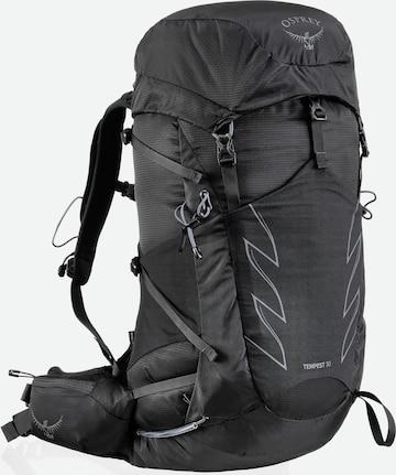 Osprey Wanderrucksack 'Tempest 30' in Schwarz