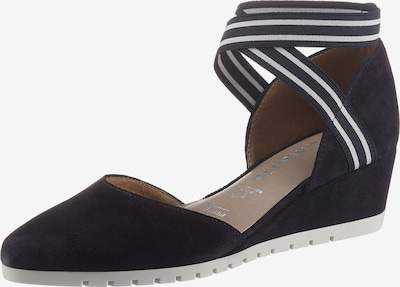 TAMARIS Sandale in dunkelblau / weiß, Produktansicht