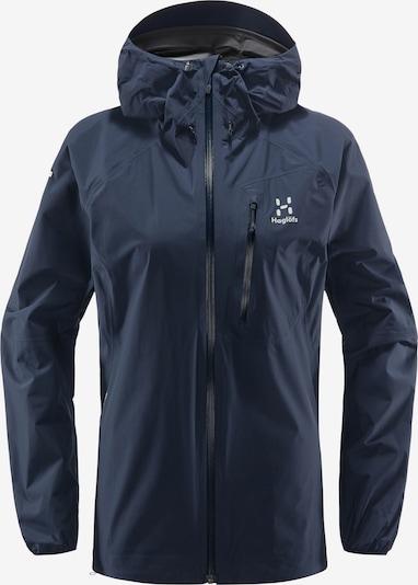 Haglöfs Outdoorjacke 'L.I.M' in nachtblau / weiß, Produktansicht