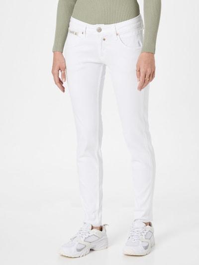 Herrlicher Jeansy w kolorze biały denimm, Podgląd na modelu(-ce)