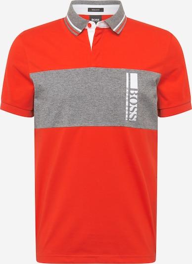 BOSS ATHLEISURE T-Krekls 'Pavel', krāsa - raibi pelēks / sarkans, Preces skats