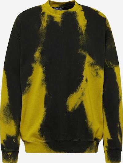 DIESEL Sweatshirt 'MART' in oliv / schwarz, Produktansicht