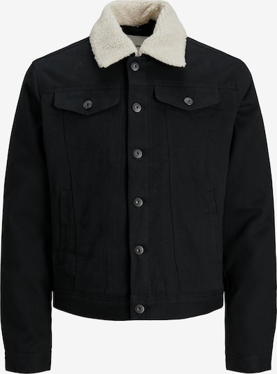 JACK & JONES Jacke 'Alvin' in creme / schwarz, Produktansicht