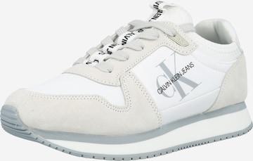 balts Calvin Klein Jeans Zemie brīvā laika apavi