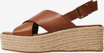 MANGO Sandalette in braun, Produktansicht