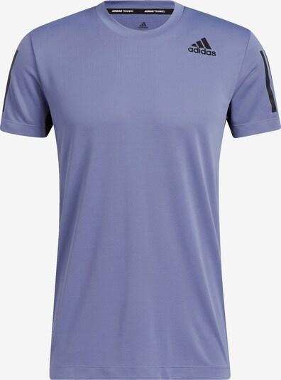 ADIDAS PERFORMANCE T-Shirt fonctionnel en violet / noir, Vue avec produit