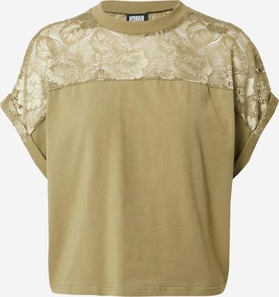 Urban Classics Curvy Shirt in de kleur Kaki, Productweergave