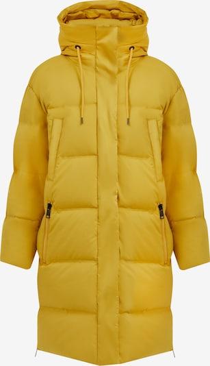 Finn Flare Daunenmantel in gelb, Produktansicht