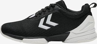 Hummel Sportschuh in schwarz / weiß, Produktansicht
