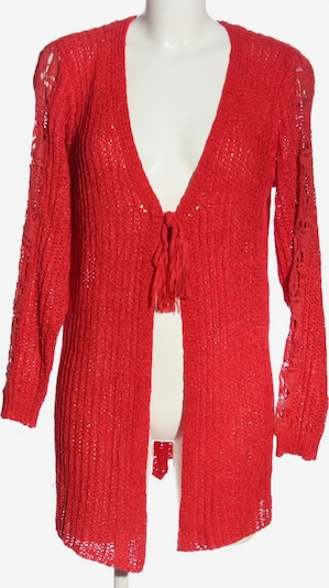 Tredy Cardigan in S in rot, Produktansicht