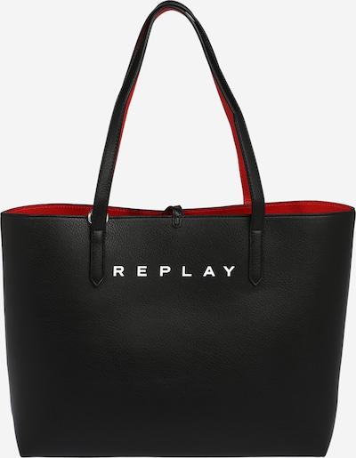 Borsa a spalla REPLAY di colore rosso / nero, Visualizzazione prodotti