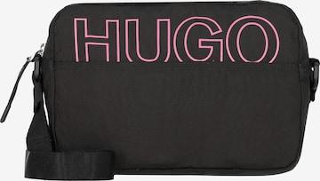 HUGO - Bolso de hombro 'Reborn' en negro