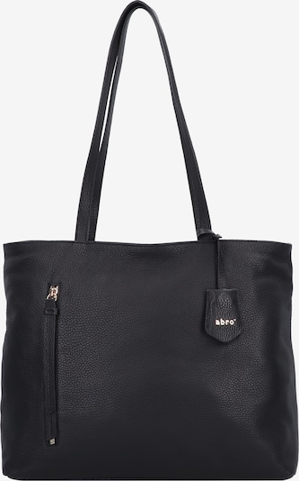 ABRO Shopper 'Juna' in gold / schwarz, Produktansicht
