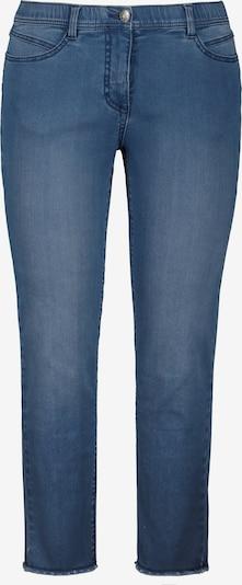 Ulla Popken Jeans in de kleur Marine / Blauw denim, Productweergave