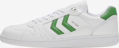 Hummel Sneaker in grün / weiß, Produktansicht