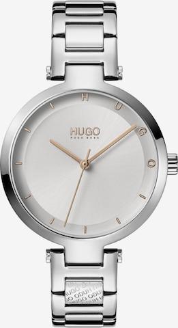 HUGO Uhr in Silber