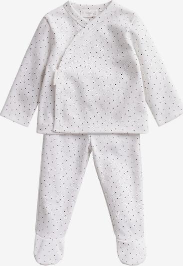 MANGO KIDS Pyjama 'LITUS' en noir / blanc cassé, Vue avec produit