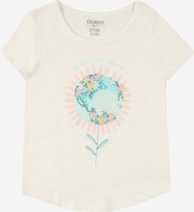 OshKosh T-Shirt en turquoise / jaune / rose / blanc, Vue avec produit