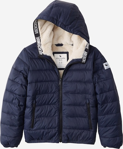 Abercrombie & Fitch Winterjas in de kleur Navy, Productweergave