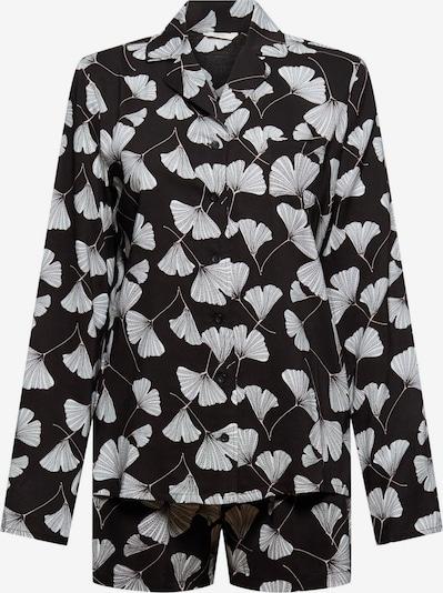 ESPRIT Pyjama in schwarz / weiß, Produktansicht