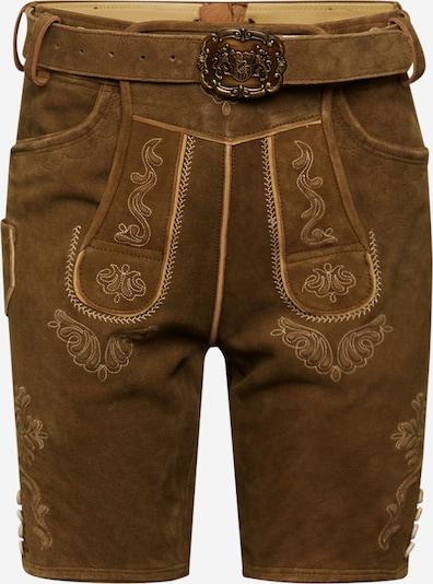 ALMSACH Bayeriske bukser i brun, Produktvisning