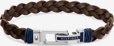 TOMMY HILFIGER Pulsera en negro / plata, Vista del producto