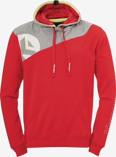 KEMPA Sweatshirt in grau / rot / weiß, Produktansicht