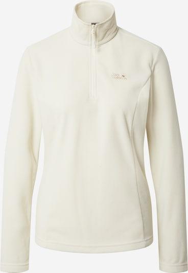 JACK WOLFSKIN Pullover 'Gecko' in weiß, Produktansicht