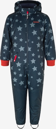 Racoon Outdoor Athletic Suit 'Felix' in Night blue / Opal / Red, Item view