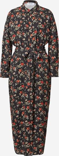Brava Fabrics Vestido camisero 'Dalia' en mezcla de colores / negro, Vista del producto