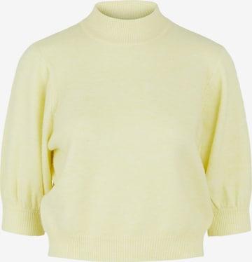 PIECES Pullover 'Fabia' in Gelb