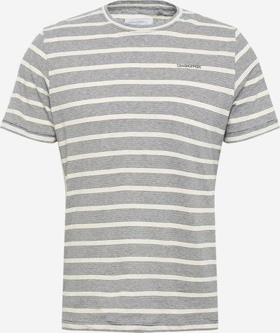 CRAGHOPPERS T-Shirt fonctionnel en bleu marine / blanc cassé, Vue avec produit