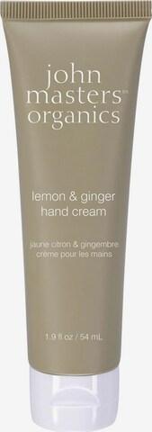 john masters organics Handcreme 'Lemon und Ginger' in