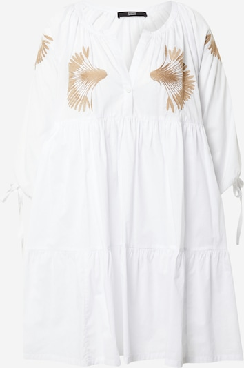 STEFFEN SCHRAUT Robe-chemise 'Ipanema' en marron / blanc, Vue avec produit