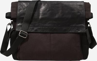 CAMEL ACTIVE Lähettilaukku 'Napoli' värissä tummanruskea / musta, Tuotenäkymä