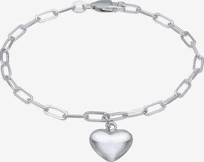 ELLI Armband Herz in silber, Produktansicht