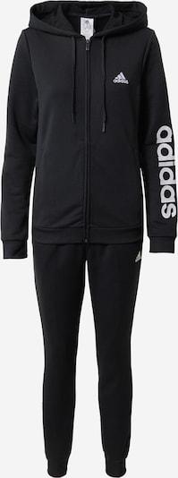 Treniruočių kostiumas iš ADIDAS PERFORMANCE , spalva - juoda / balta, Prekių apžvalga