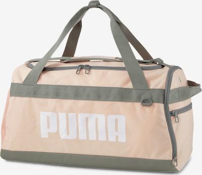 PUMA Sporttasche 'Challenger' in grau / lachs / weiß, Produktansicht