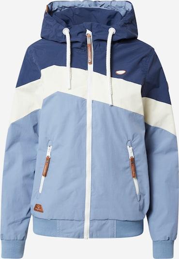 Giacca funzionale 'NUGGIE BLOCK' Ragwear di colore blu pastello / blu scuro / bianco, Visualizzazione prodotti