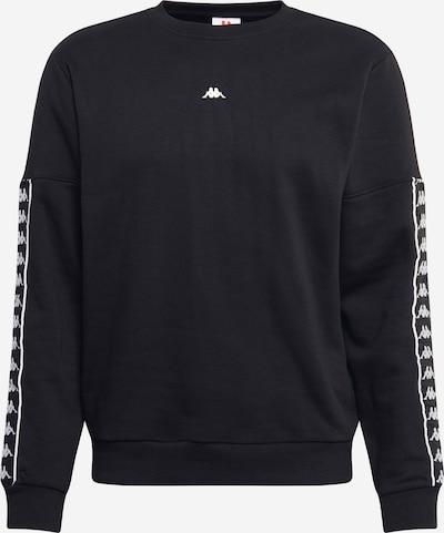 KAPPA Sweater majica 'HABITAT' u crna / bijela, Pregled proizvoda