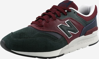 new balance Matalavartiset tennarit värissä burgundin punainen / musta / valkoinen, Tuotenäkymä