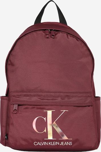 Calvin Klein Jeans Mochila 'Campus' en mezcla de colores / frambuesa / blanco, Vista del producto