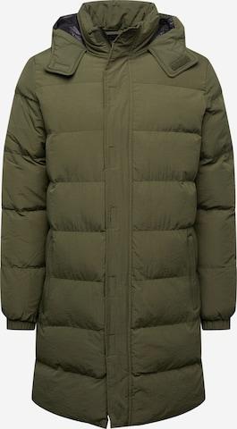 BLEND Between-Seasons Coat in Green