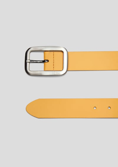 s.Oliver Gürtel in gelb, Produktansicht