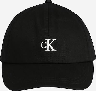 Calvin Klein Jeans Kapelusz w kolorze czarny / białym, Podgląd produktu