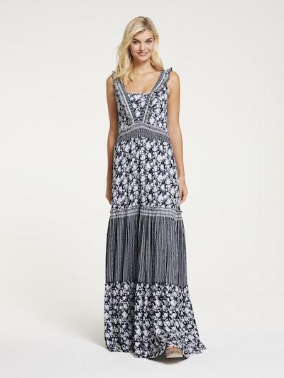 heine Kleid in taubenblau / weiß, Modelansicht