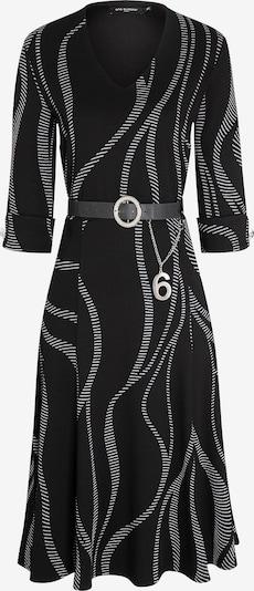 Ana Alcazar Jurk ' Beole ' in de kleur Zwart / Wit, Productweergave