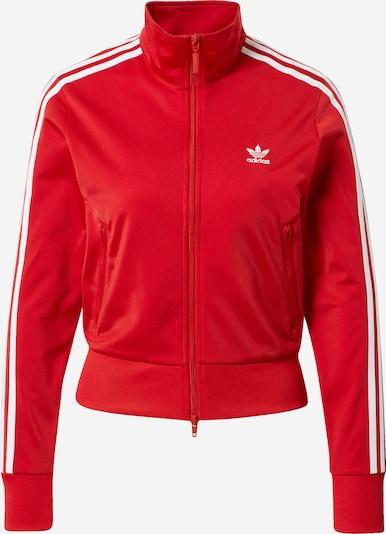 ADIDAS ORIGINALS Jacke 'Firebird' in rot / weiß, Produktansicht