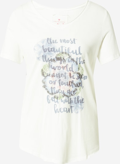 LIEBLINGSSTÜCK T-shirt 'Daje' i opal / ljusgrön / ljusrosa / off-white, Produktvy