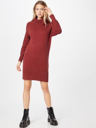 EDC BY ESPRIT Kleid in weinrot, Modelansicht